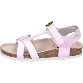 Sapatos Rapariga Sandálias Smiley BK512 Cor de rosa