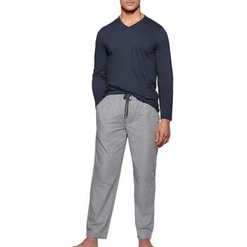 Textil Homem Pijamas / Camisas de dormir Impetus 1523310 E97 Azul
