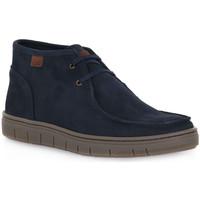 Sapatos Homem Botas Grunland LOMO BLU Blu