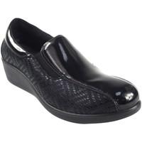 Sapatos Mulher Sapato de vela Amarpies 18800 AJH Negro