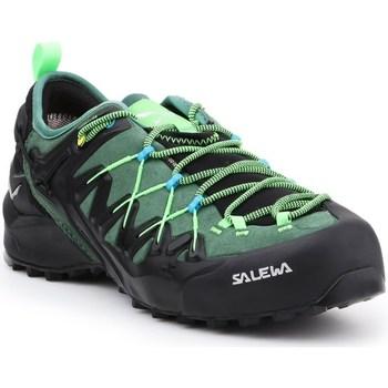 Sapatos Homem Sapatos de caminhada Salewa MS Wildfire Edge Gtx Preto,Verde