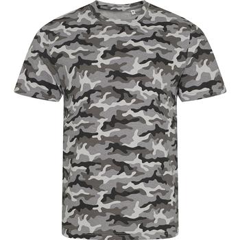 Textil Homem T-Shirt mangas curtas Awdis JT034 Camo cinza