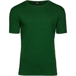 Textil Homem T-Shirt mangas curtas Tee Jays T520 Verde Floresta