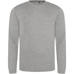Textil Homem T-shirt mangas compridas Awdis JT002 Heather Grey