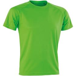 Textil Homem T-Shirt mangas curtas Spiro SR287 Soco de lima