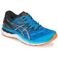 Sapatos Homem Sapatilhas de corrida Asics NIMBUS 23 Azul / Multicolor