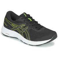 Sapatos Homem Sapatilhas de corrida Asics CONTEND 7 Preto / Amarelo