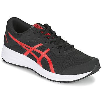 Sapatos Homem Sapatilhas de corrida Asics PATRIOT 12 Preto / Vermelho