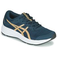 Sapatos Mulher Sapatilhas de corrida Asics PATRIOT 12 Azul / Laranja