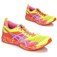 Sapatos Mulher Sapatilhas de corrida Asics NOOSA TRI 12 Amarelo / Multicolor