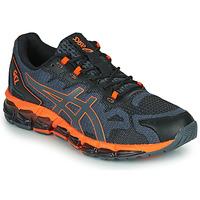 Sapatos Homem Sapatilhas Asics QUANTUM 360 6 Preto / Cinza / Laranja