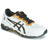 Sapatos Homem Sapatilhas Asics QUANTUM 360 6 Branco / Preto / Ouro