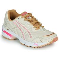 Sapatos Mulher Sapatilhas Asics 1090 Branco / Rosa / Ouro