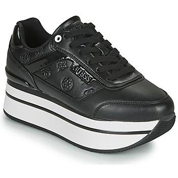 Sapatos Mulher Sapatilhas Guess HANSIN Preto