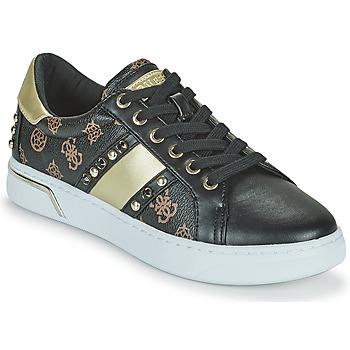 Sapatos Mulher Sapatilhas Guess RICENA Preto