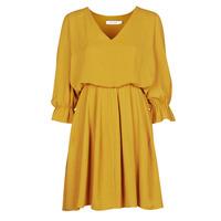 Textil Mulher Vestidos curtos Naf Naf  Amarelo