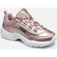 Sapatos Criança Sapatilhas Fila STRADA F LOW JR Rosa