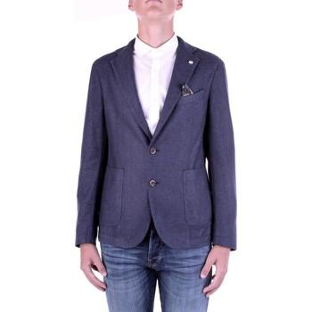 Textil Homem Casacos/Blazers Manuel Ritz 2932G2728TW-203507 Azul