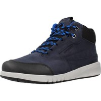 Sapatos Rapaz Sapatilhas de cano-alto Geox J AERANTER BOY ABX Azul