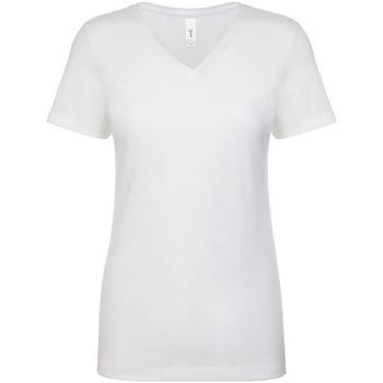 Textil Mulher T-Shirt mangas curtas Next Level NX1540 Branco
