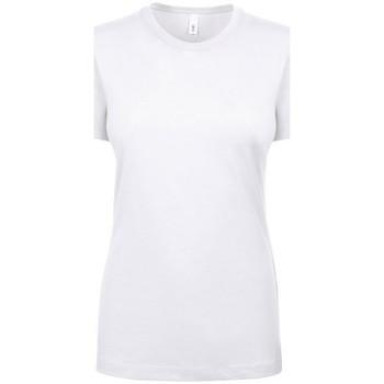 Textil Mulher T-Shirt mangas curtas Next Level NX1510 Branco