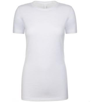 Textil Mulher T-Shirt mangas curtas Next Level NX6610 Branco