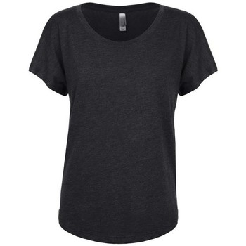 Textil Mulher T-Shirt mangas curtas Next Level NX6760 Vintage Black