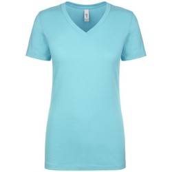 Textil Mulher T-Shirt mangas curtas Next Level NX1540 Tahiti Blue