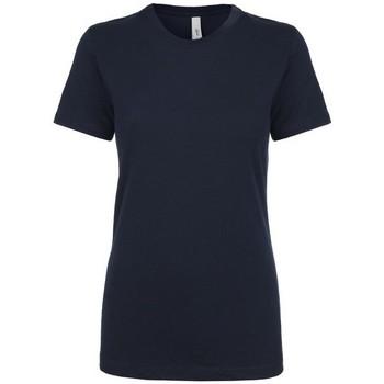 Textil Mulher T-Shirt mangas curtas Next Level NX1510 Meia-noite na Marinha