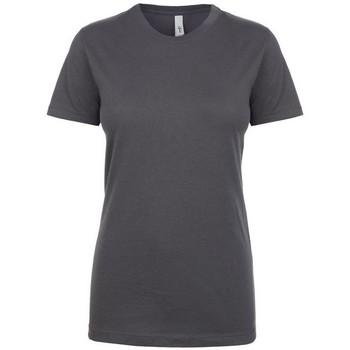 Textil Mulher T-Shirt mangas curtas Next Level NX1510 Cinza Escuro