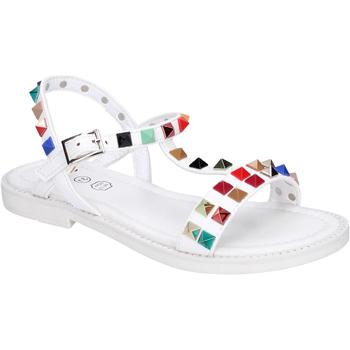 Sapatos Rapariga Sandálias Joli BK530 Branco