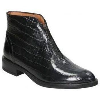 Sapatos Mulher Botas baixas Marroquí Sánchez BOTINES  2070 SEÑORA NEGRO Noir