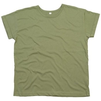 Textil Mulher T-Shirt mangas curtas Mantis M193 Azeitona