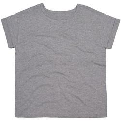 Textil Mulher T-Shirt mangas curtas Mantis M193 Heather Marl