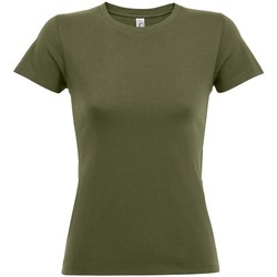Textil Mulher T-Shirt mangas curtas Sols 01825 Exército