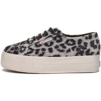 Sapatos Mulher Sapatilhas Superga - 2790 nero/bco leopard S00GZJ0 2790 A0L NERO