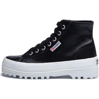 Sapatos Mulher Botins Superga - 2341 nero S41188W 2341 999 NERO