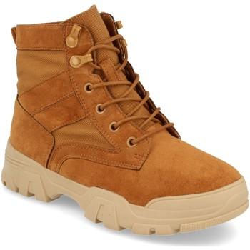 Sapatos Mulher Botins Prisska Y5688 Camel