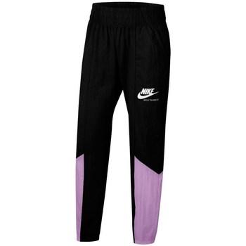 Textil Rapariga Calças de treino Nike Sportswear Heritage Preto, Roxo