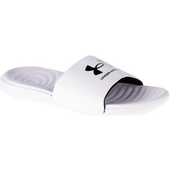 Sapatos Homem chinelos Under Armour Ansa Fixed Slides Branco