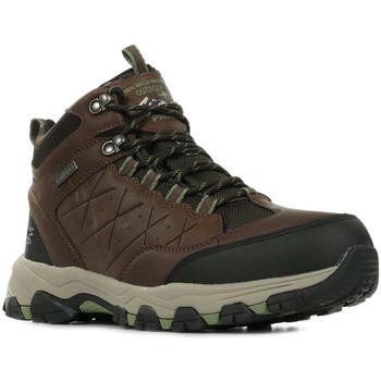Sapatos Homem Sapatos de caminhada Skechers Selmen Telago Castanho