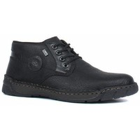 Sapatos Homem Botas baixas Rieker Michigan Fino Ankle Boots Black