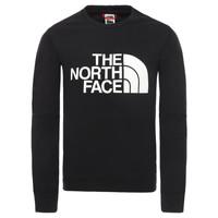 Textil Rapaz Sweats The North Face DREW PEAK LIGHT CREW Preto