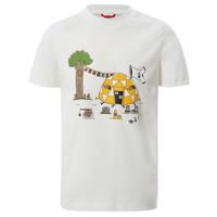 Textil Rapaz T-Shirt mangas curtas The North Face GRAPHIC TEE Branco