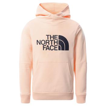 Textil Rapariga Sweats The North Face DREW PEAK HOODIE 2.0 Rosa