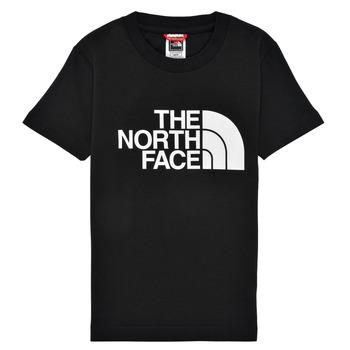Textil Rapaz T-Shirt mangas curtas The North Face EASY TEE Preto
