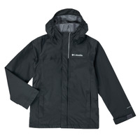 Textil Rapaz Jaquetas Columbia WATERTIGHT JACKET Preto