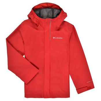 Textil Rapaz Jaquetas Columbia WATERTIGHT JACKET Vermelho