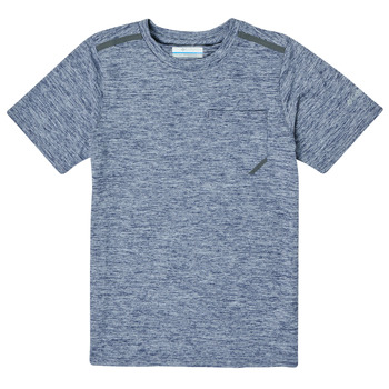 Textil Rapaz T-Shirt mangas curtas Columbia TECH TREK Marinho