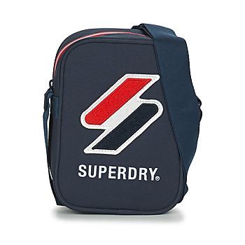 Malas Pouch / Clutch Superdry SPORTSTYLE SIDE BAG Marinho